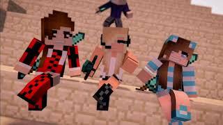 Девочка хаке музыка Майнкрафт Minecraft Hacker Music