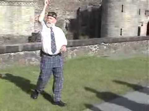 The best tour guide ever Stirling Castle