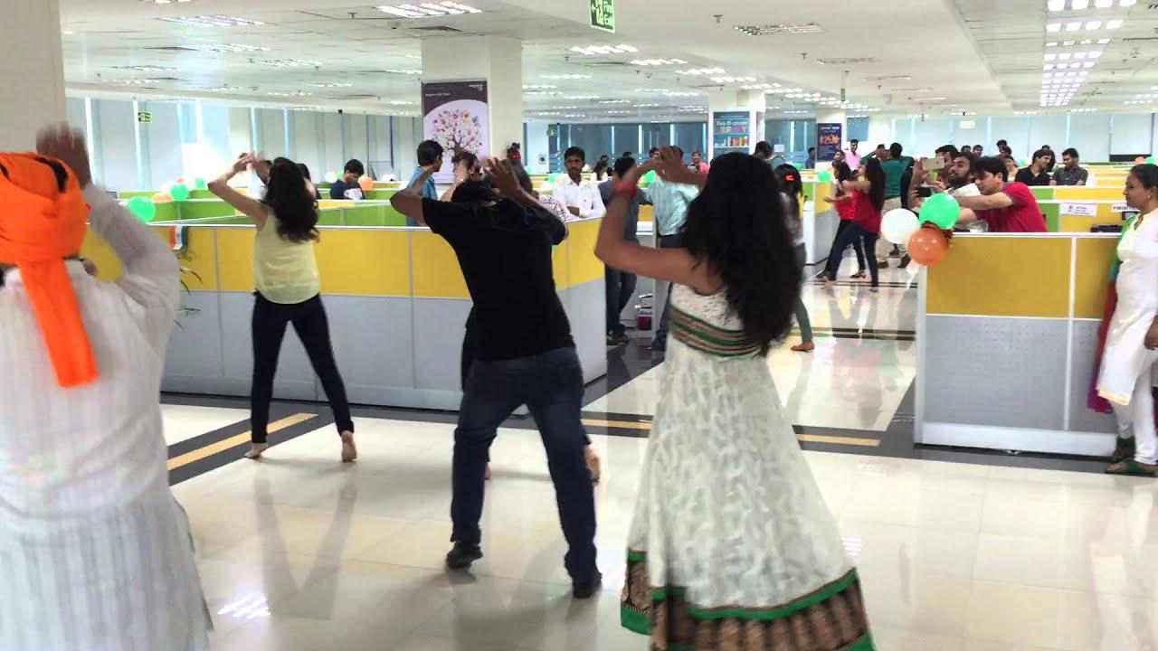 Nagarro Independence day - Floor Flashmob by Swati Sharma
