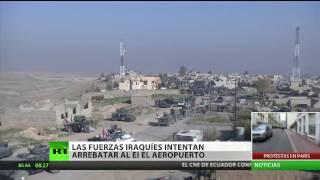 Las fuerzas de seguridad iraquíes recuperan el aeropuerto de Mosul