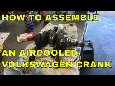 """How To Assemble A Volkswagen Crank, Bentley's """"New"""" Engine Part 3"""