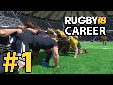 Rugby 18 Career - WE ARE THE.......