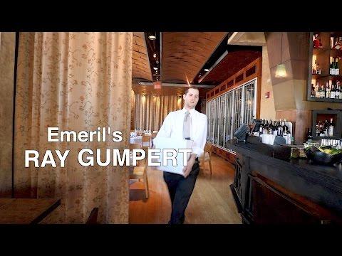 Meet sommelier Ray Gumpert of James Beard-nominated Emeril's