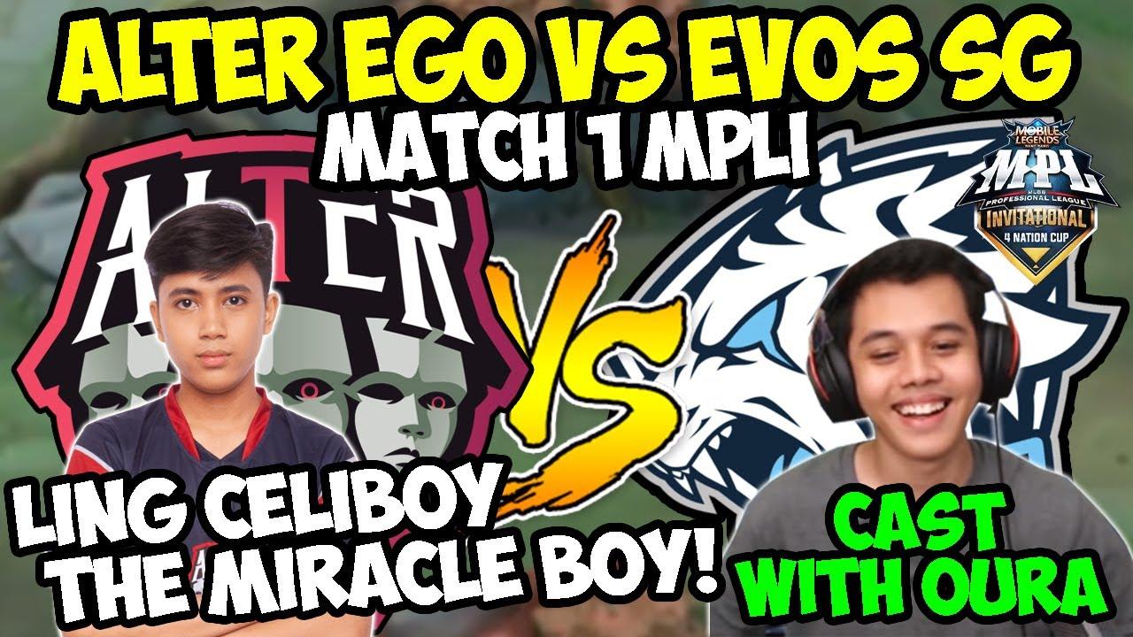 Download MATCH 1 ALTER EGO VS EVOS SG! CELIBOY PAKAI LING? MENGGILA BOS ANAK AJAIB !! | Donkey BAR BAR