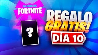 GETTING THE FREE GIFT OF THE 10TH OF FORTNITE!! *14 DAYS OF FORTNITE*