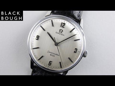 Omega Seamaster 600 Ref. 135.011 steel vintage wristwatch, circa 1965