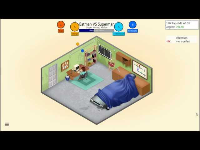 Sans Commentaire: Game Dev Tycoon Partie 3 1080P/60FPS