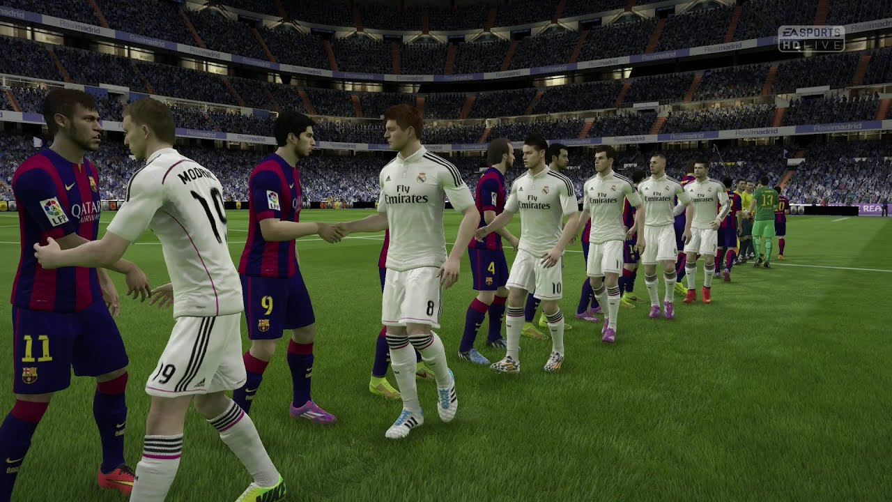 ps4 xbox one fifa 15 real madrid vs fc barcelona next gen full gameplay 1080p hd youtube