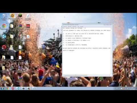 TUTORIAL DE COMO DESCARGAR OSEANIS CHANGE BACKGROUND PARA WINDOWS 7