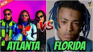 ATLANTA Rappers vs FLORIDA Rappers!