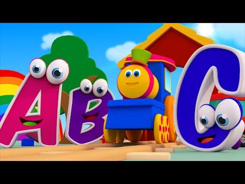 Bob il treno - La canzone dell'alfabeto | bob la canzone treno alfabeto |  ABC With Bob Train