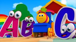 Bob il treno - La canzone dell'alfabeto   bob la canzone treno alfabeto    ABC With Bob Train