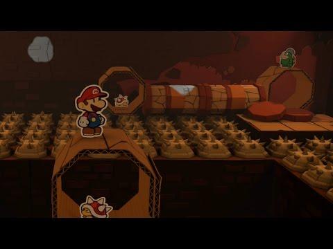 Kiwano Temple (Mini Star 1) - Paper Mario: Color Splash Walkthrough