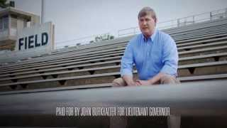 "John Burkhalter for Lieutenant Governor TV Ad ""Opened Doors"""