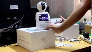 Telecamera videosorveglianza con allarme Pic camera. Controllo da cellulare Ios  Android IP camera