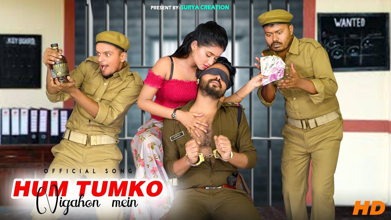 Hum Tumko Nigahon Mein | Police Wala Love Story | Surya & Tiyasha | Latest Hindi Song 2021
