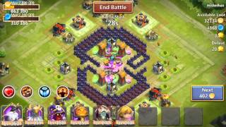 Archer Queen And Without Xbows Th Base