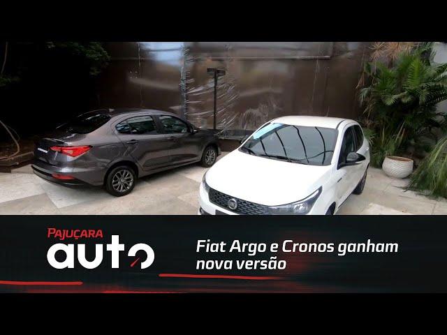 Fiat Argo e Cronos ganhamnova versão