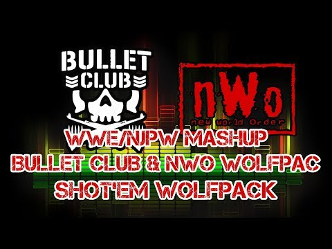 WWE/NJPW Mashup: Bullet Club & nWo Wolfpac - Shot'em Wolfpack (with quotes) [by Marquez768]