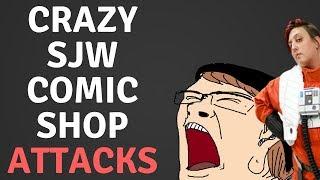 SJW COMIC SHOP SLANDERS CUSTOMER THEN CLAIMS VICTIM