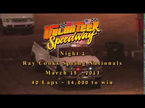 Volunteer Speedway March 15, 2013 $4,000 Spring Nationals