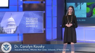 "PrepTalks: Dr. Carolyn Kousky ""Harnessing the Power of Disaster Insurance"""