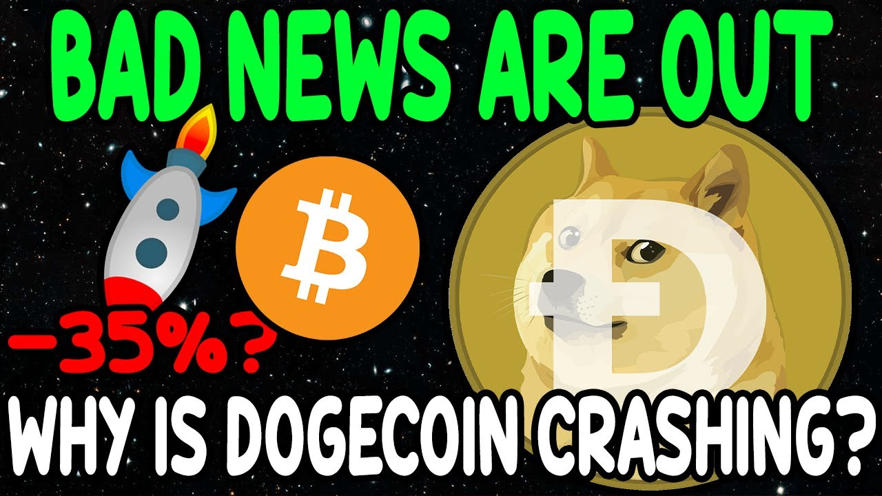 Dogecoin News Today! Why Dogecoin Is Going Down! Dogecoin ...