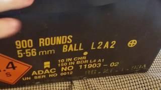 Ящик настоящих патронов НАТО 5.56 - SS109 GB