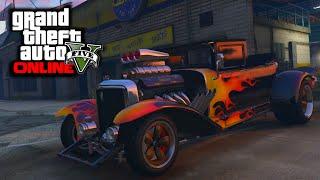 GTA 5 PS4 - Albany Franken Stange Halloween Car Showcase (GTA V DLC)