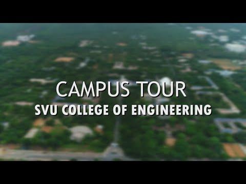 Campus Tour - Sri Venkateswara University College Of Engineering    SVUCE