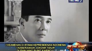 On The Spot - 7 Peristiwa Aneh di Istana Kepresidenan Indonesia