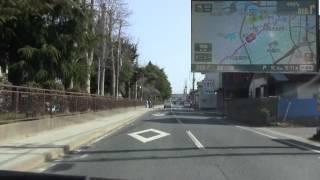 20120402 国道115号 相馬IC→市街地→国道6号[原町~相馬 開通]