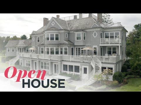 A Nantucket-Style Waterfront Estate In Westport | Open House TV