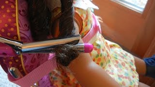 Hair Salon - American Girl Doll Stop-motion