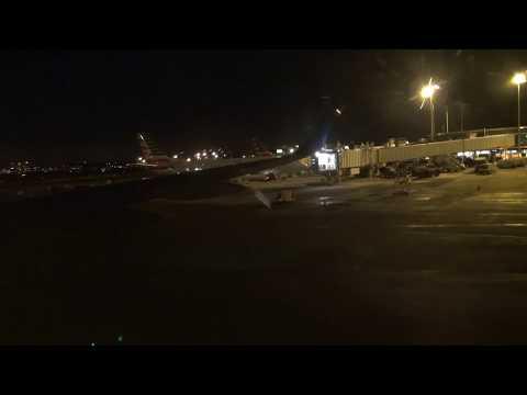 Delta 757-200 takeoff from Minneapolis/St Paul MSP