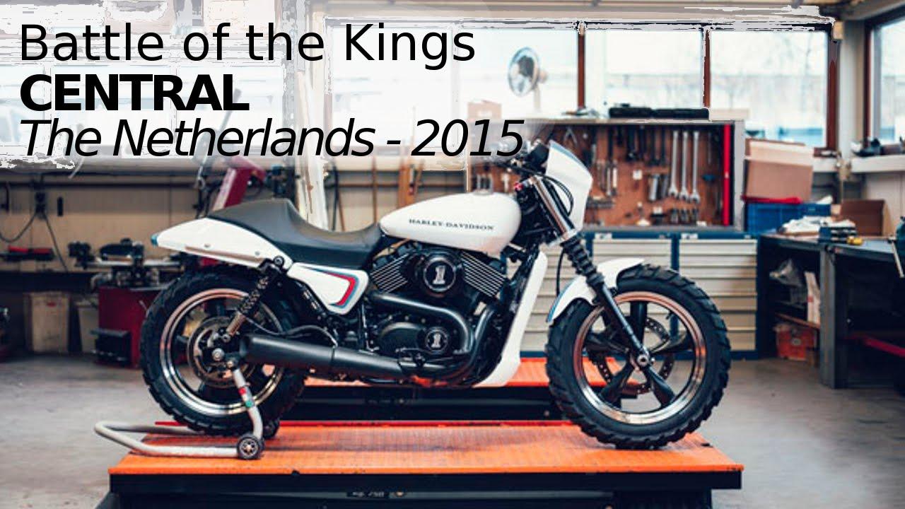 Harley Davidson Street 750 Custom By Central Youtube