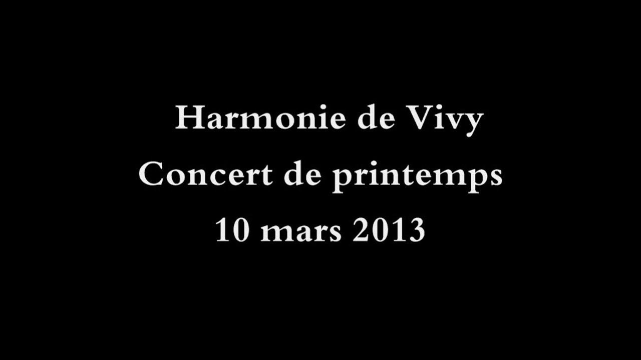 Harmonie de Vivy - Concert de printemps 2013