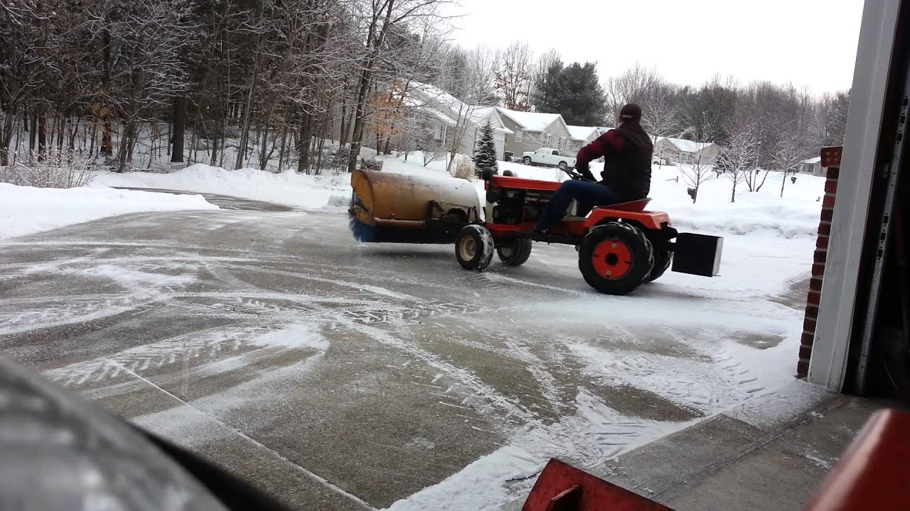 Sweepster Power Broom For Simplicity And Allis Chalmers