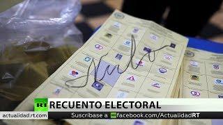 Guatemala: Arranca el recuento electoral tras el cierre de los colegios