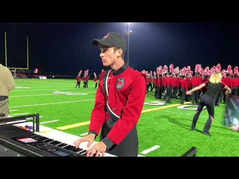 CWU Marching Band 2018 Halftime Multi-cam