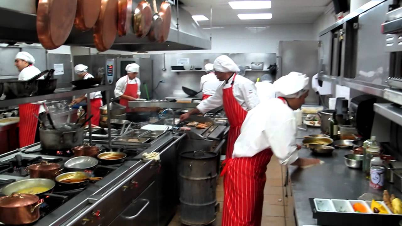 Busy Restaurant Kitchen busy kitchen at la bastide saint antoine youtube within busy