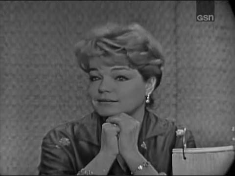 What's My Line?  Simone Signoret; Ray Bolger panel Nov 12, 1961