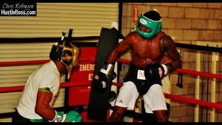 Shane Mosley vs. Shawn Porter Intense Sparring at Barry's Boxing