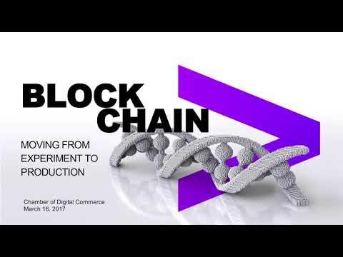 DC Blockchain Summit Keynote  David Treat, Accenture