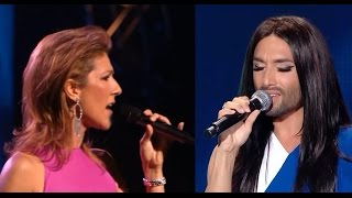Celine Dion & Conchita Wurst My Heart Will Go On