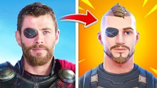 Top 10 Fortnite Easter Eggs FROM MOVIES!