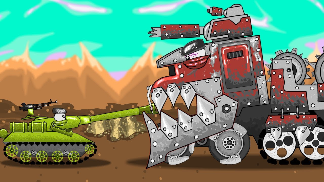 Битва с Мясником - Мультики про танки