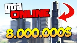 КУПИЛ НЕБОСКРЕБ ЗА 8.000.000$ В GTA 5 ONLINE - ОБНОВА
