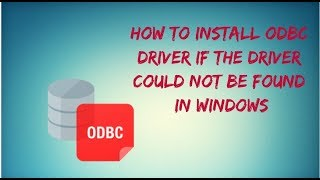 Microsoft Access Driver (*.mdb, *.accdb) ODBC Driver could not be found. Mp3