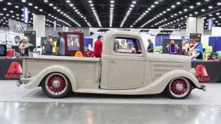 JSK Hot Rods built 1936 Ford Truck - Fred Struckman